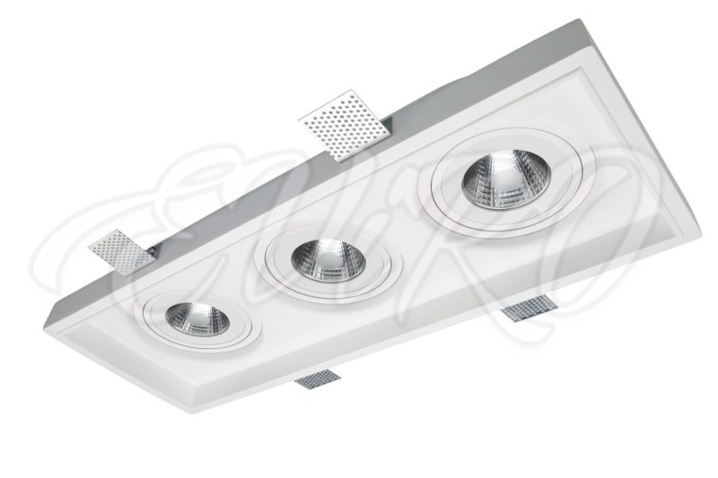 Built-in ceiling lighting fixture EViRO VPS 7