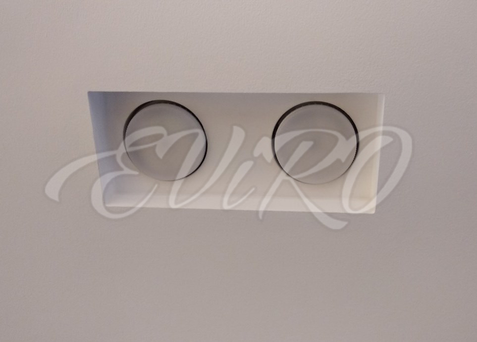 Built-in ceiling lighting fixture EViRO VPS 4